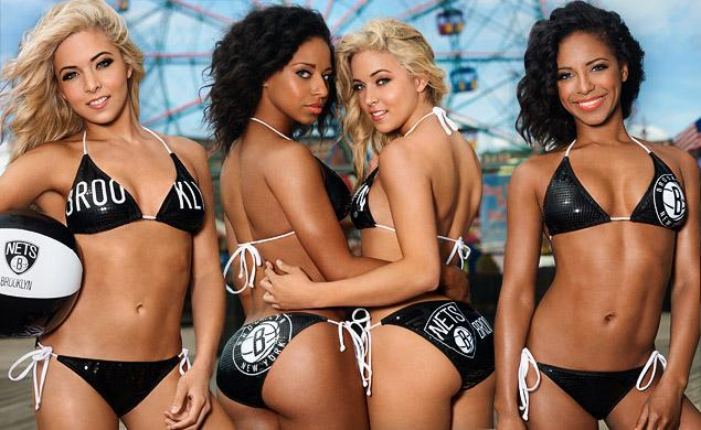 Image result for images of the brooklyn nets cheerleaders