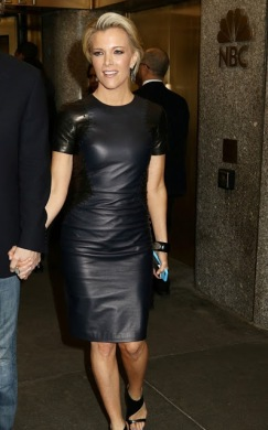 Image result for images of megyn kelly in black leather pants